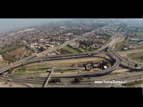 AD Toma Aerea ,  videos aereos santiago planta de tratamiento y autopistas