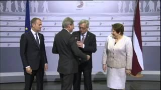 EU Commission Head  Drunk Radical Leftist Jean-Claude Juncker Bitch Slap Binge