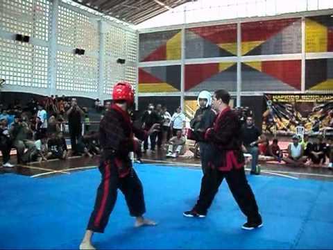 Campeão brasileiro Hapkido absoluto 2010 Mestre Crisólito - luta final