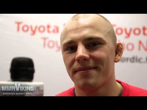 Jussi Halonen - Post-fight Cage 29... Wants Sparv for Title