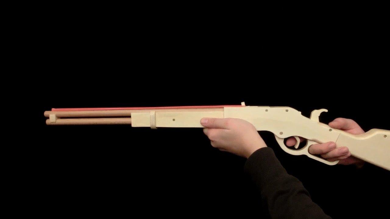 Winchester Gun Wallpaper Winchester 1873 Rubberband Gun