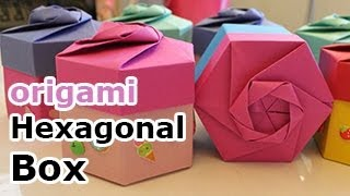Origami Hexagonal Gift Box (non Modular)