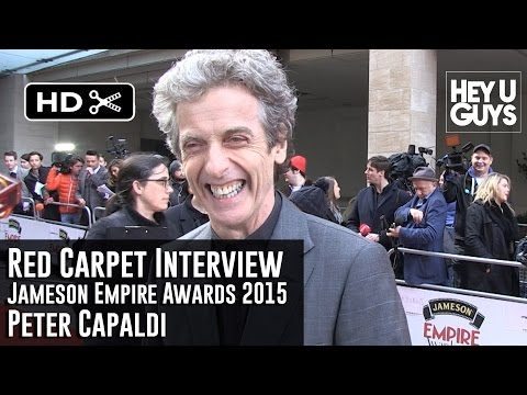 Peter Capaldi Interview - Empire Jameson Film Awards 2015 (Doctor Who the Movie?)