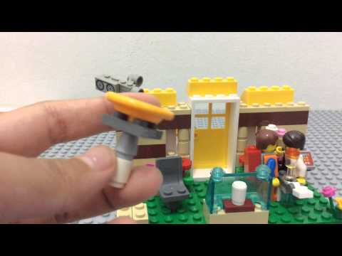 Lego Larry The Barista's Coffee Shop(MOC)