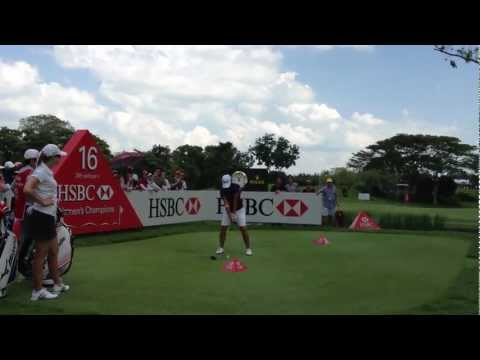 HSBC LPGA SINGAPORE 2012 - YANI TSENG - Driver at 16. on friday 23.02.2012 /GOLF