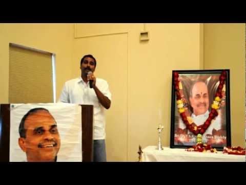 Dr. Ysr 3rd Vardhanthi Washington Dc -sreenivasa Reddy Song.avi video