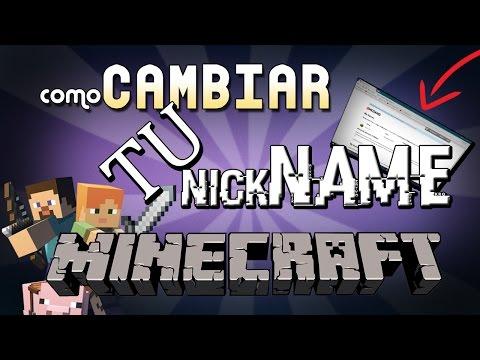Como CAMBIAR tu Nickname de MINECRAFT premium ✔