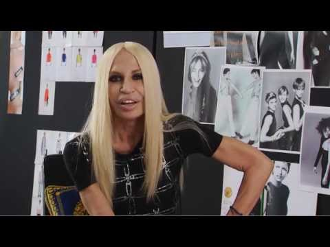 Donatella Versace on her new VERSUS VERSACE