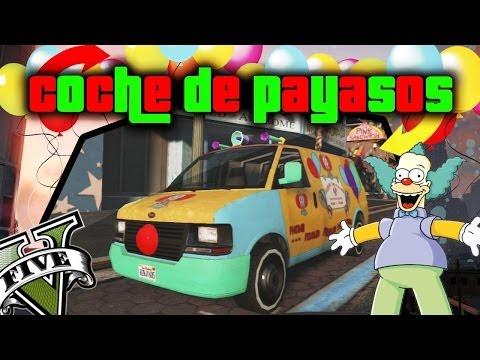 GTA V Online - Como conseguir Coche de payasos!! (Clown Van) GTA 5 Online