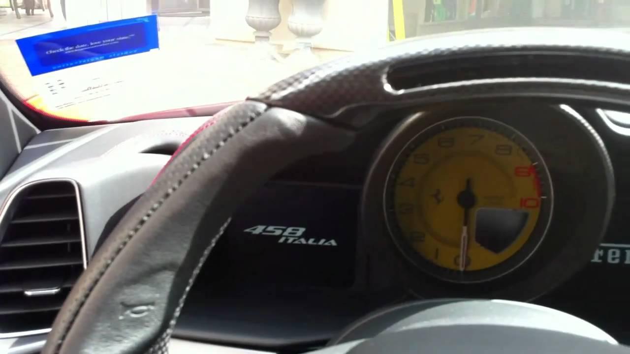 Ferrari 458 Italia Speedometer 2010 Ferrari 458 Italia