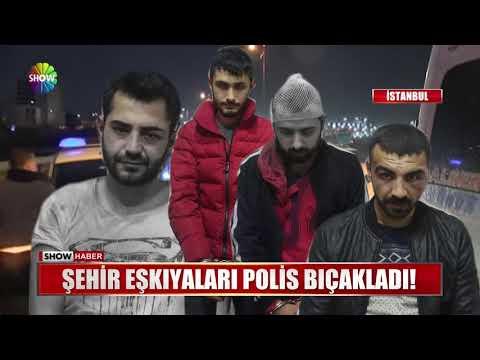 Şehir eşkıyaları Polis bıçakladı!