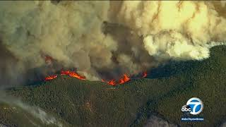Thomas Fire largest wildfire in CA history at 273,400 acres | ABC7