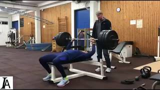 Neeraj Chopra's weight training and javelin throw workouts at Germany