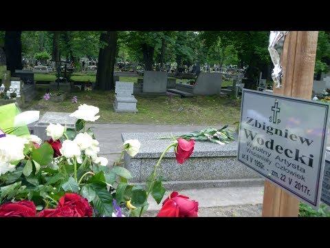 Pogrzeb Zbigniewa Wodeckiego Hołd Dla Artysty Cmentarz Rakowicki W Krakowie 30.05.2017