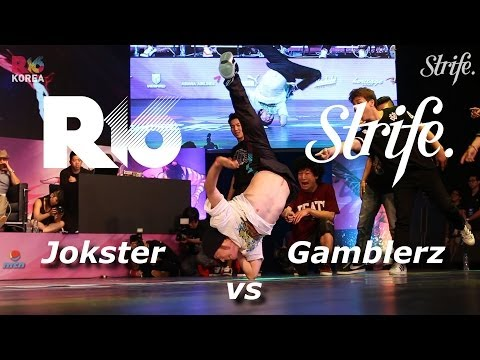Gamblerz vs Jokester Crew | R16 Korea 2014 | Semi-Finals | Strife...