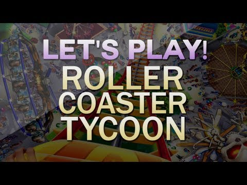 Let's Play! Roller Coaster Tycoon | Episode 2
