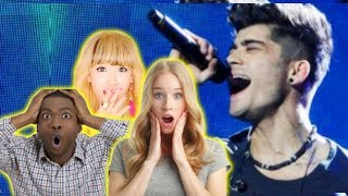 Download Lagu YOUTUBERS react to ZAYN 'sHe' HIGH NOTE Gratis STAFABAND