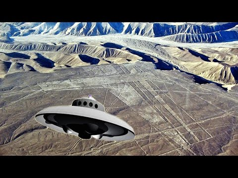 👽 НЛО засняли военные! Реальные съемки - плато Наска 2017 (UFO)