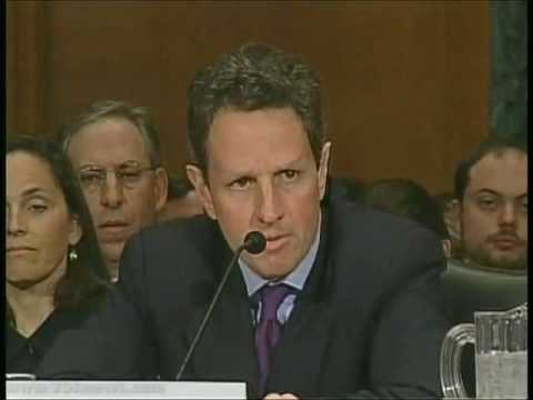 Timothy Geithner becomes US Treasury Secretary