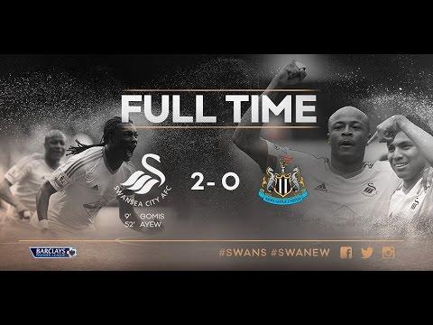 Swansea City VS Newcastle United Fans 2-0