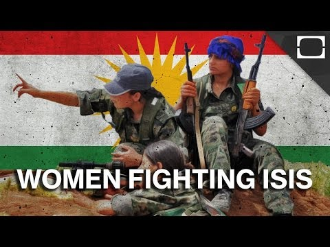 Who Are The Kurdish Women Fighting Isis? video