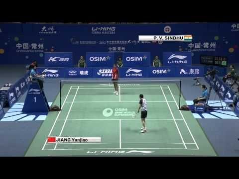SF - WS - Jiang Yanjiao vs Pusarla Venkata Sindhu - 2012 China Masters