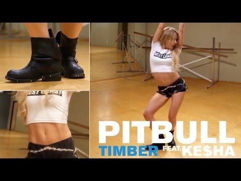 Pitbull ft. Ke$ha - Timber (Dance Tutorial)