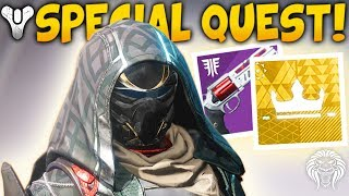 Destiny 2: THE MOST DIFFICULT REWARD IN THE GAME! Getting Lunas Howl & Special Quest Unlock