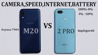 Realme 2 Pro vs Samsung Galaxy M20 #camera#speed#battery drain/charge#Gaming