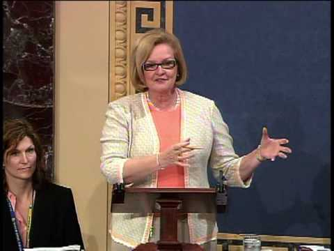 Sen. McCaskill Speaks in Support of Sebelius Nomination