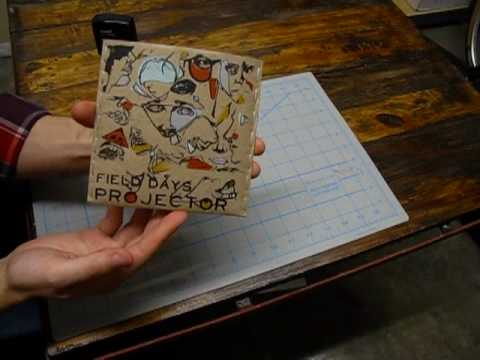 Field Days - Projector - Handmade Album Packaging Process