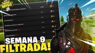 DESAFIOS SEMANA 9! FORTNITE Battle Royale PASE DE BATALLA 4!