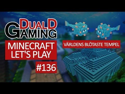 Minecraft Let's Play Med DDG - Episode #136 - Världens blötaste tempel