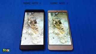 Redmi Note 4 vs Redmi Note 3 Screen Comparison | IPS LCD SCREEN!!