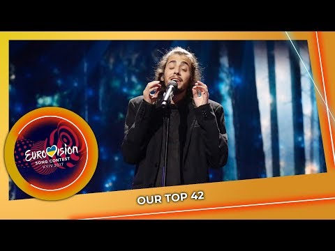 EUROVISION 2017 | OUR TOP 42