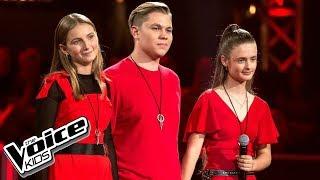 """Szymańska, Bałucki, Chmielarska - """"One Sweet Day"""" - Bitwy - The Voice Kids Poland 2"""