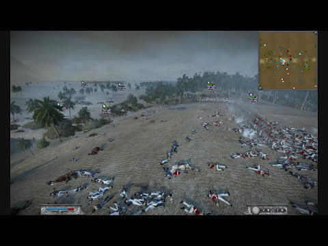Napoleon Total War Battle (Great Britain v France) HD Test