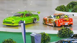 RC DRIFT CARS IN ACTION!! *REMOTE CONTROL CARS, RC MODEL DRIFT CARS