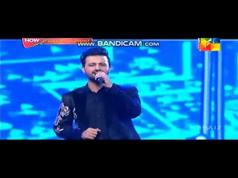 Atif Aslam And QB Tere Sang Yaara At Hum Style Awards
