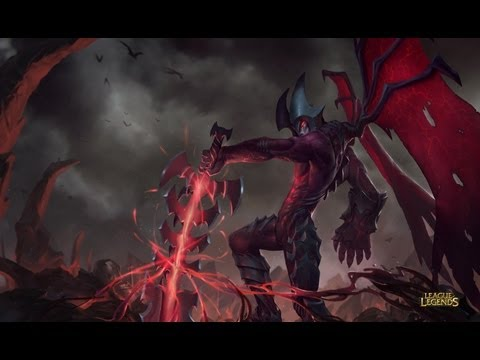 League of Legends - Jungle Aatrox (pre-release)
