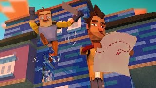 Minecraft | Hello Neighbor - SECRET MAP TO THE GRAVE!? (Hello Neighbor in Minecraft)