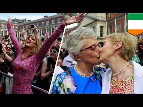 Gay marriage: Ireland votes 'YES' on same sex marriage referendum - TomoNews