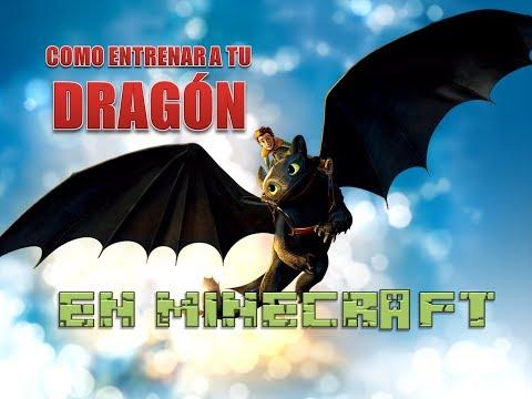 Como entrenar a tu dragon en minecraft   Jair Rivera