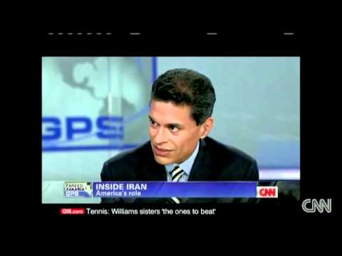 Maziar Bahari discusses Iran with CNN´s Fareed Zakaria