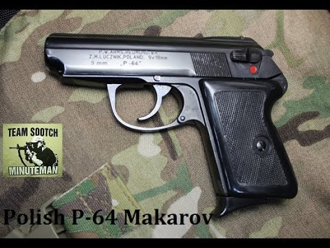 P-64 Polish 9x18 Makarov Pistol Review