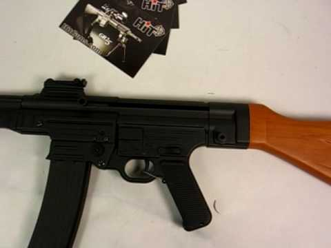 HitGuns.com - Airsoft Gun Review - AGM MP44 AGM-056 Pt.1 of 3
