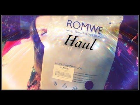 Romwe Haul – Acquisti Online Su Romwe – Le Idee di Berta