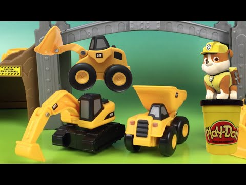 Cat Construction Vehicles With Cat Construction Mini