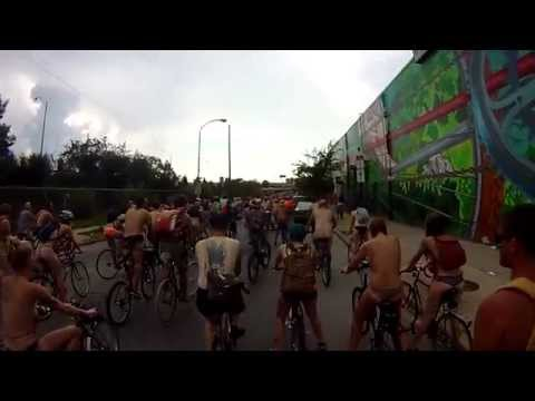 Philly Naked Bike Ride 2014 - Inside The Ride 02
