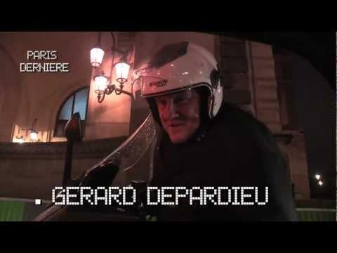 Gérard Depardieu s'invite dans Paris Dernière le 19.01.2013 sur Paris Première